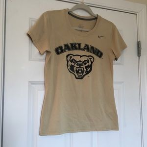 Small Nike Dri Fit Oakland University Womens Shirt